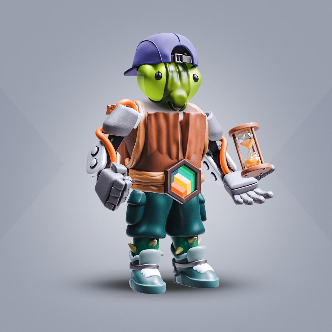 3D SOLDIER #1508